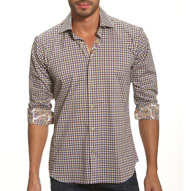 Lisbon Shirt Multi II by Jared Lang
