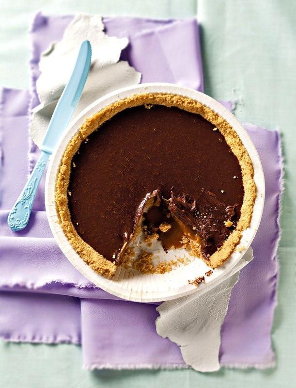 Tarta de ciocolata si caramel