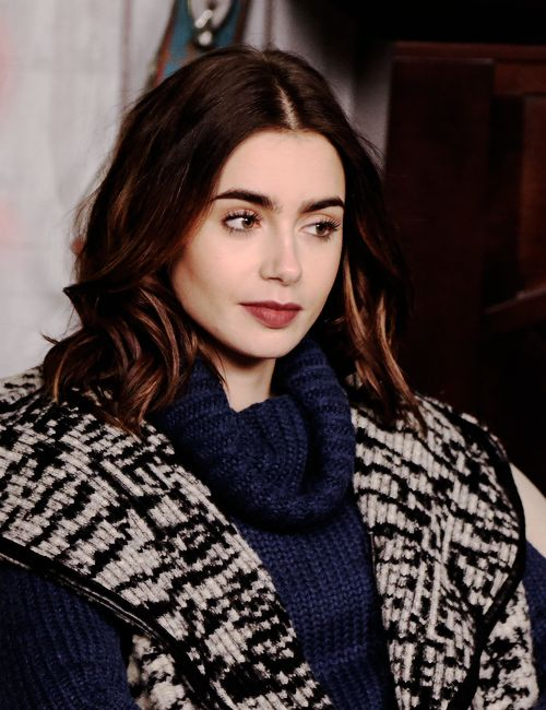 Lily Collins for The Hollywood Reporter at the Sundance Film Festival on January 21, 2017.