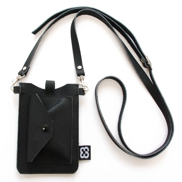 Iphone 5 tasje zwart| portemonnee