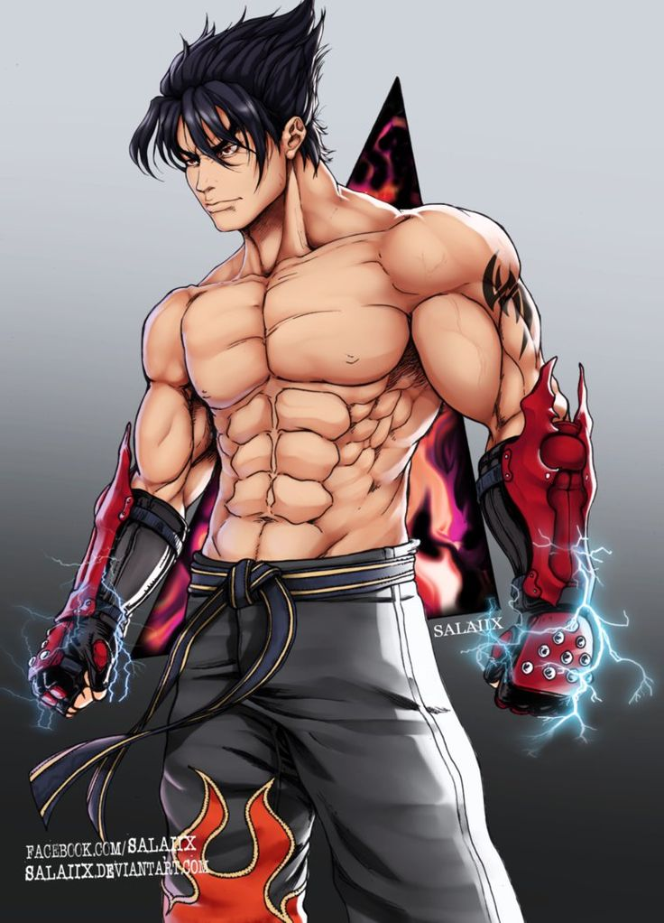 Jin Kazama -Tekken- by Salaiix on DeviantArt