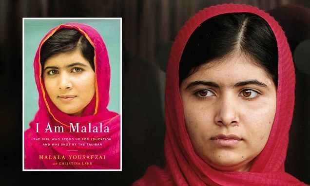 Malala said Taliban have never come for a girl before she was shot