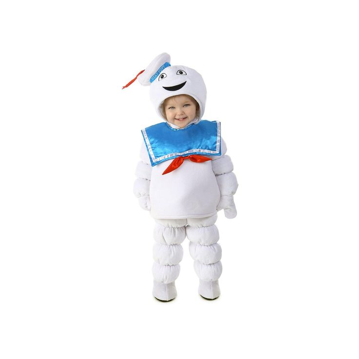 Ghostbusters Stay Puft Marshmallow Man Costume - Baby, Infant Unisex, Size: 12-18MONTH, Multicolor