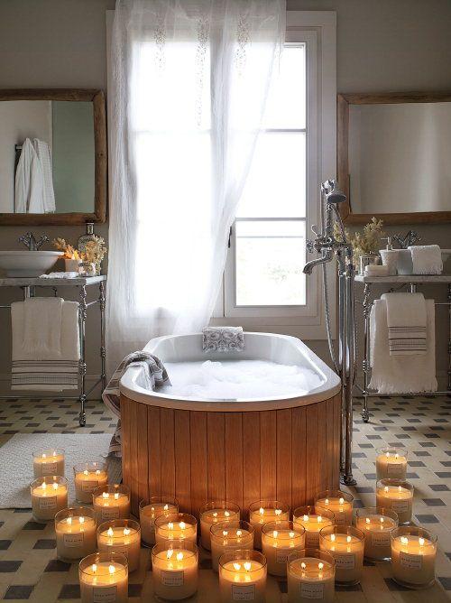 25+ beste ideeën over badkamer kaarsen op pinterest, Badkamer