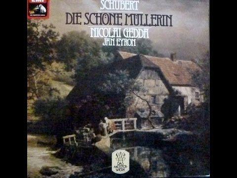 """Nicolai Gedda """"Die schöne Müllerin"""" Schubert"""