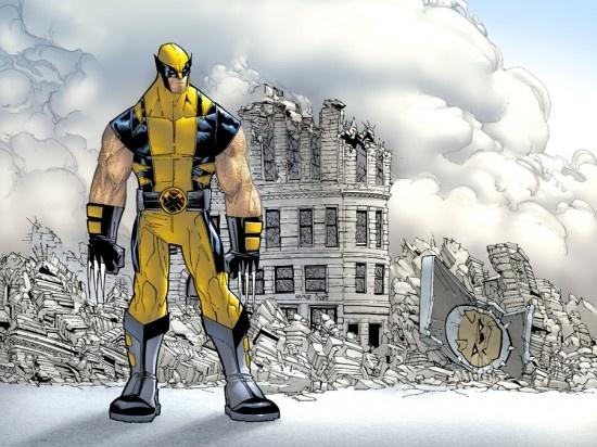 Wolverine by Humberto Ramos, colours by Edgar Delgado