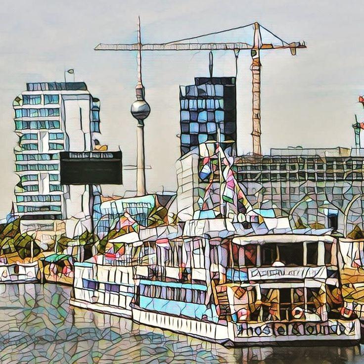 Berlino from west side gallery
