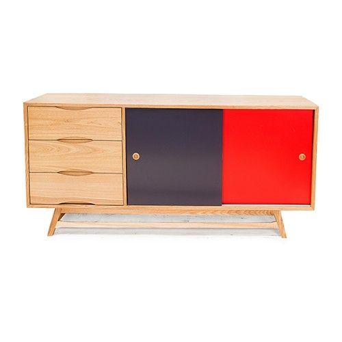 Delling Sideboard Cabinet Oak - Scandinavian Furniture