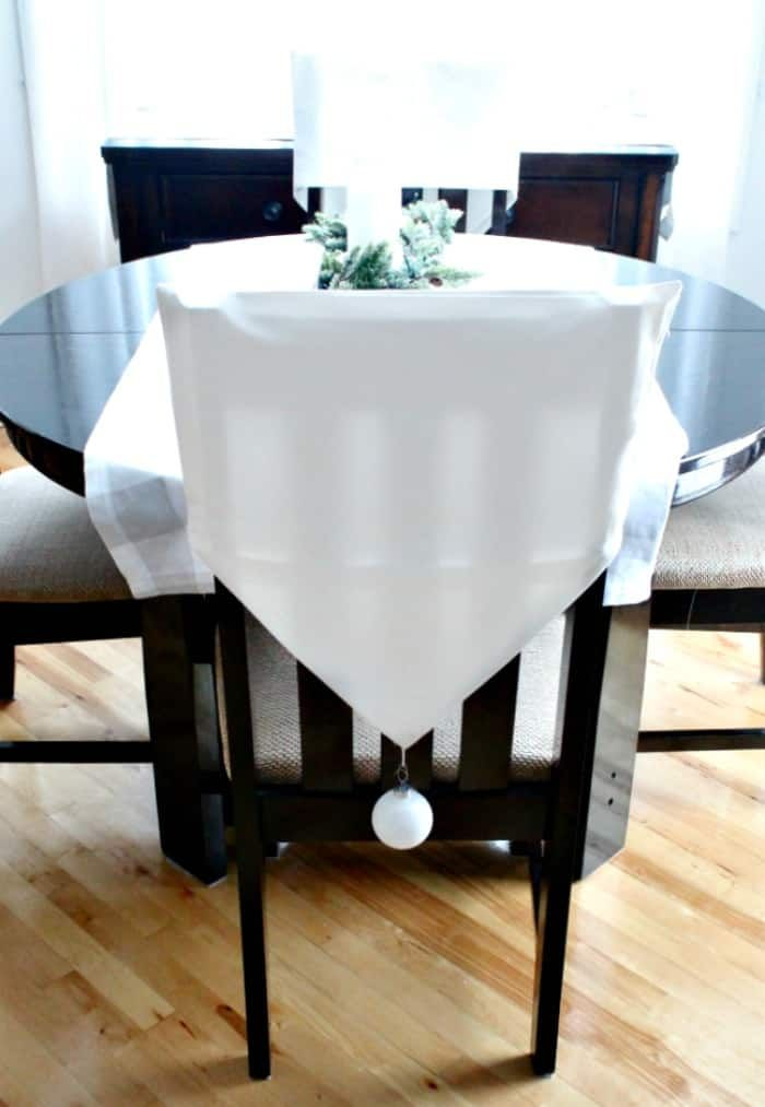 Diy Chair Back Covers Perfect For Dressing Up Kitchen Chairs Chair Back Covers Christmas Chair Covers Diy Chair
