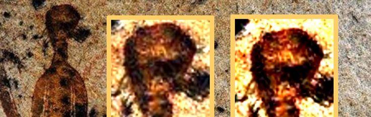 10.000 jaar oude rotstekeningen van 'buitenaardse wezens en UFO's' in India - http://www.ninefornews.nl/rotstekeningen-buitenaardse-wezens-india/