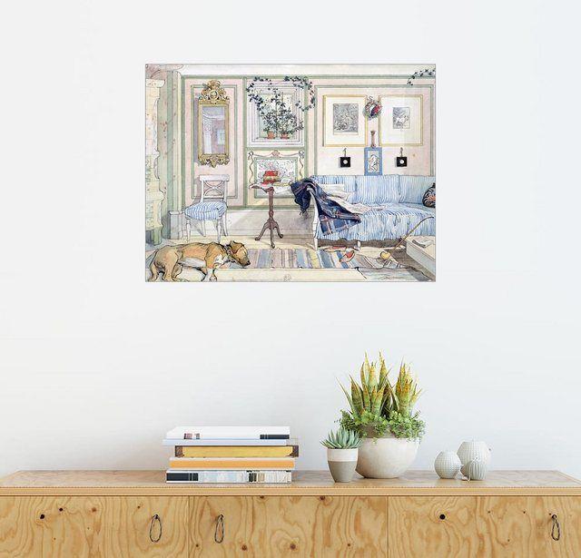Wandbild – Carl Larsson »Gemütliche Ecke«