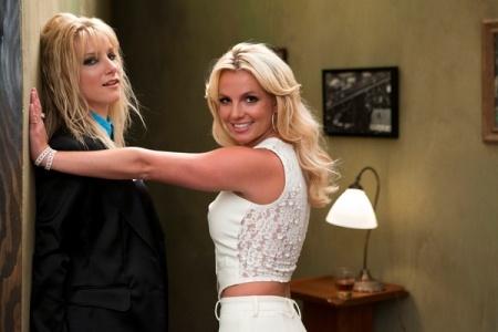 Britney Spears Glee Twitpics