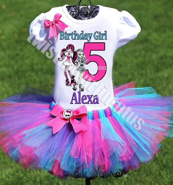 Monster High Birthday Outfit Monster High by TwistinTwirlinTutus
