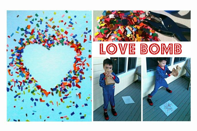 Valentine's Day Activity: A do-it-yourself valentine even little boys will love to make