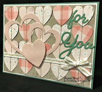 For You Hearts card