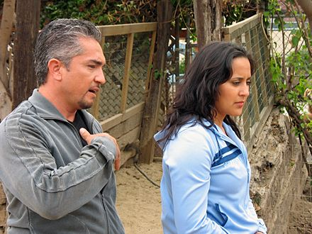 the dog whisperer | The Dog Whisperer - Season Three - Cesar Millan and wife, Ilusion