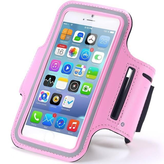 Beautiful Running Sports Arm Band Case For Apple iPhone 6 6S Armband iphone protection Case Free Shipping