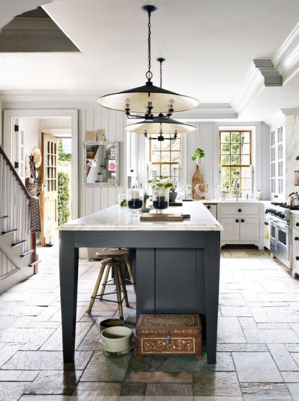552 best Kitchens images on Pinterest Dark kitchen floors