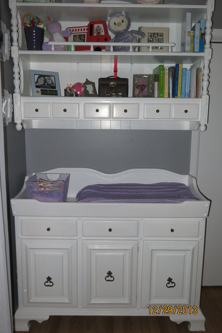 Attractive DIY, Hutch Change Table, Purple U0026 Grey, Nursery | Baby | Pinterest | Change  Tables, Nursery And Babies