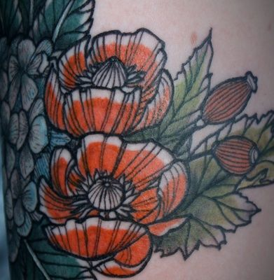 http://tattoomagz.com/david-hale-tattoos-2/red-flowers-tattoo-by-david-hale/
