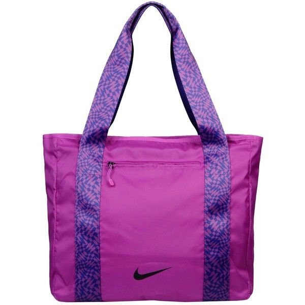 Nike Shoulder Bag ($31) ❤ liked on Polyvore featuring bags, handbags, shoulder bags, purple, zipper purse, two tone purse, purple shoulder bag, purple handbags and print purse