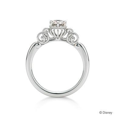 Fortunate Pumpkin Carriage-シンデレラ-   【K.UNO】ディズニージュエリー   婚約指輪・結婚指輪はケイ・ウノで。オーダーメイドでエンゲージリング・マリッジリングをお作りします。