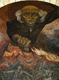 El cura hidalgo mural del palacio de gobierno de for El mural guadalajara