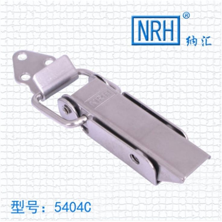 NRH 5404C 304 stainless steel good quality toggle latch Factory direct sales a pair of draw latch for musical equipment case