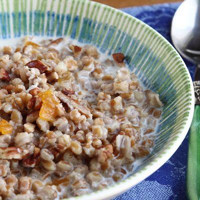 Wheat Berry Cinnamon Porridge – Superfood Breakfast When I wake up in the morning, I'm hungry. Maybe, like my dog, I phantom-chase...