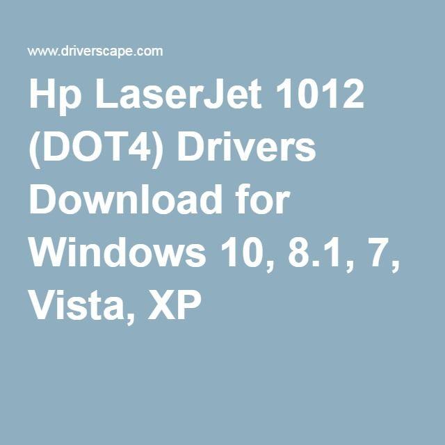 Driver Hp Laserjet 1012 Windows 10