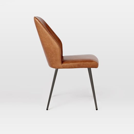 Crawford Leather Dining Chair + Sets | west elm