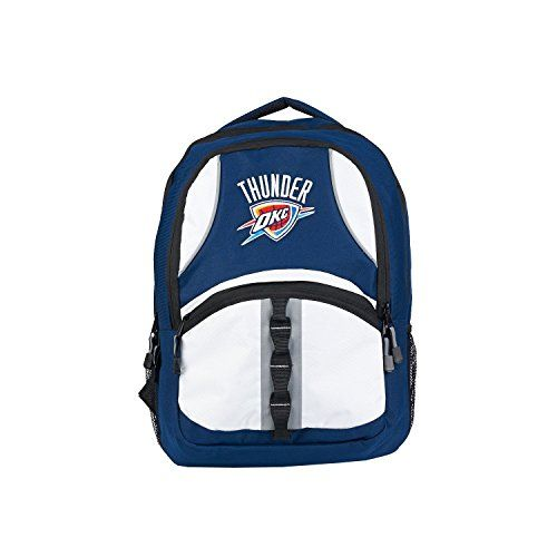 NBA Officially Licensed Oklahoma City Thunder OKC Captain Backpack >>> Check out the image by visiting the link.