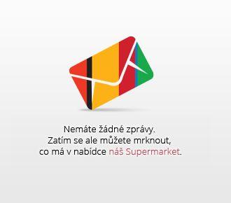 Nemáte žádné zprávy. Zatím sa ale můžete mrknout, co má v nabídce náš Supermarket.