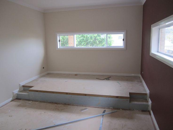 17 best images about j room on pinterest low beds for Raised platform bed