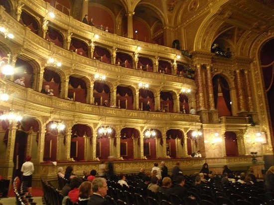 Budapest Opera House , Budapest, Hungary, an important location in Painted Faces http://amzn.to/2tLplUS
