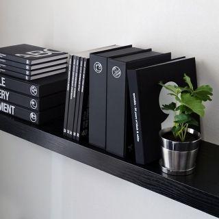 「A5ブック型ケース(ブラック)【mon…」の商品情報