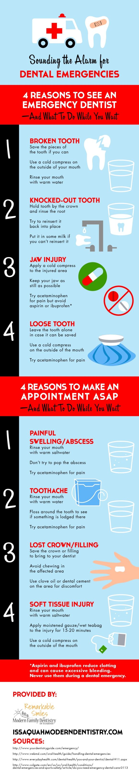 best images about dental infographics sedation a broken loose or knocked out tooth can very well warrant a trip to