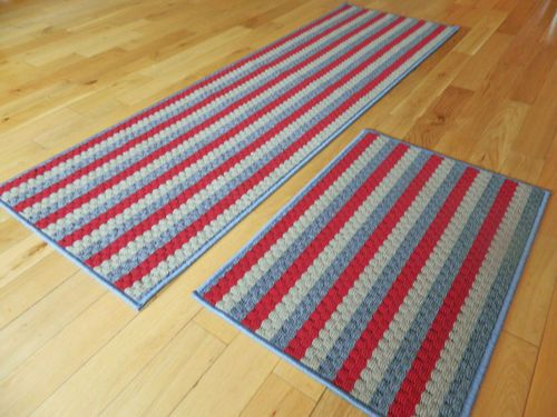 LARGE KITCHEN SMALL DOOR MATS THICK WASHABLE RUG HALL RUNNERS NON SLIP MAT SETS | eBay