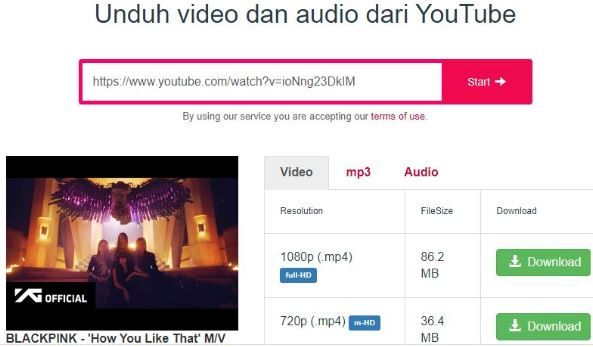 Cara Convert Video Youtube Ke Mp4 Tanpa Aplikasi Youtube Video Musik Video