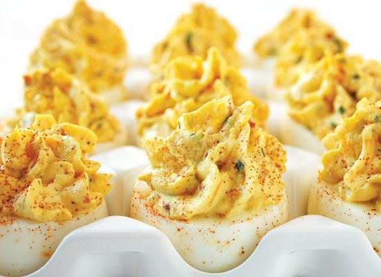 Bacon and Cheddar Deviled Eggs.: Egg Recipes, Deviled Eggs Recipe, Food, Deviledeggs, Cheddar Deviled, Appetizer, Favorite Recipes, Bacon Cheddar