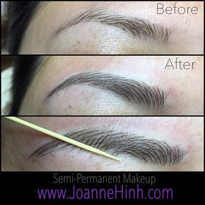 Keeping it natural  Hair Stroke Eyebrow Embroidery (semi-permanent makeup)  www.JoanneHinh.com  jo@joannehinh.com  +1 (510) 342.9578  #permanentmakeup  #3deyebrow #semipermanentmakeup #hairstrokes #eyebrowembroidery #softap #permanentcosmetics #eyebrowtattoo #cosmetictattoo #hairstroke  #permanenteyebrows #browtattoo #cosmetictattooing  #micropigmentation #browembroidery #joannehinh  #makeuptattoo  #tattooeyebrows  #tattoo #ink #brows #bayarea #sanfrancisco #sanjose  #inked #perfectbrows…