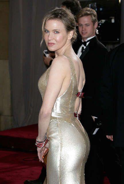 American actress, Renee Zellweger at Oscars 2013...