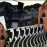 Mariah Carey a la baja, pero de kilos