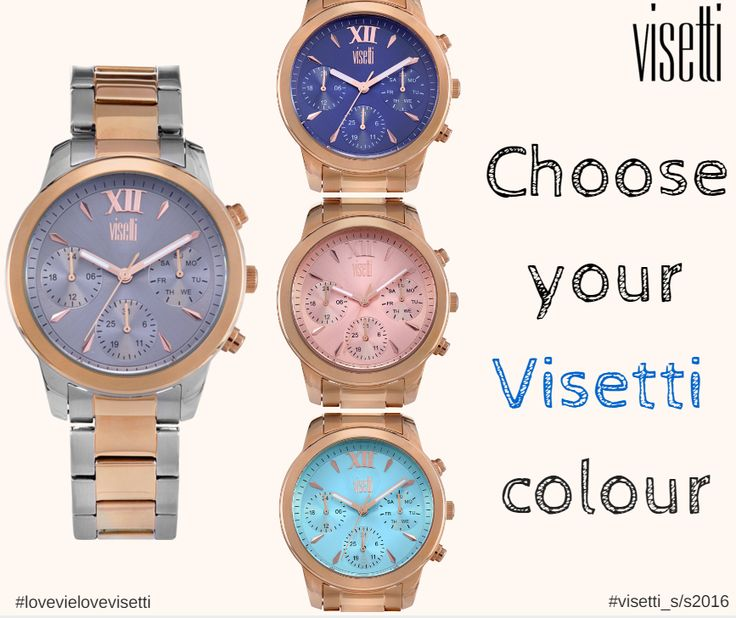 Choose your visetti colour!