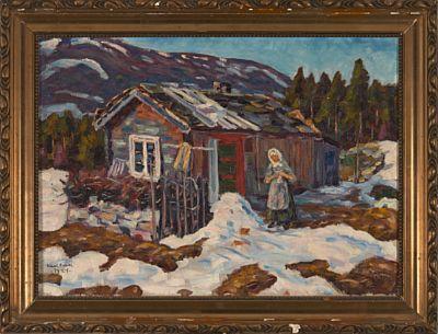 Husmandsplass av Karl Løkke