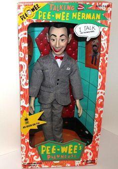 Talking Pee-Wee Herman Doll.