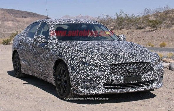 2014 Infiniti G37 Spy Shots. This car will be launched at 2013 Genenva Motor Show on next March. And look forward to the next update of 2014 Infiniti G37