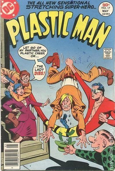 Plastic Man (1966 1st Series DC) 17