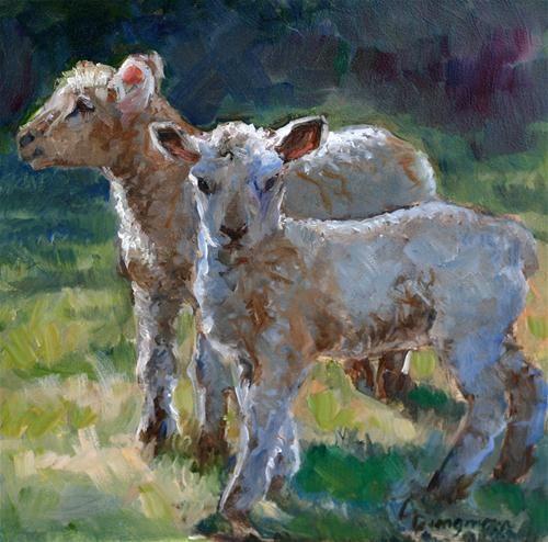 Quot Twins Quot Original Fine Art For Sale 169 Carlene Dingman