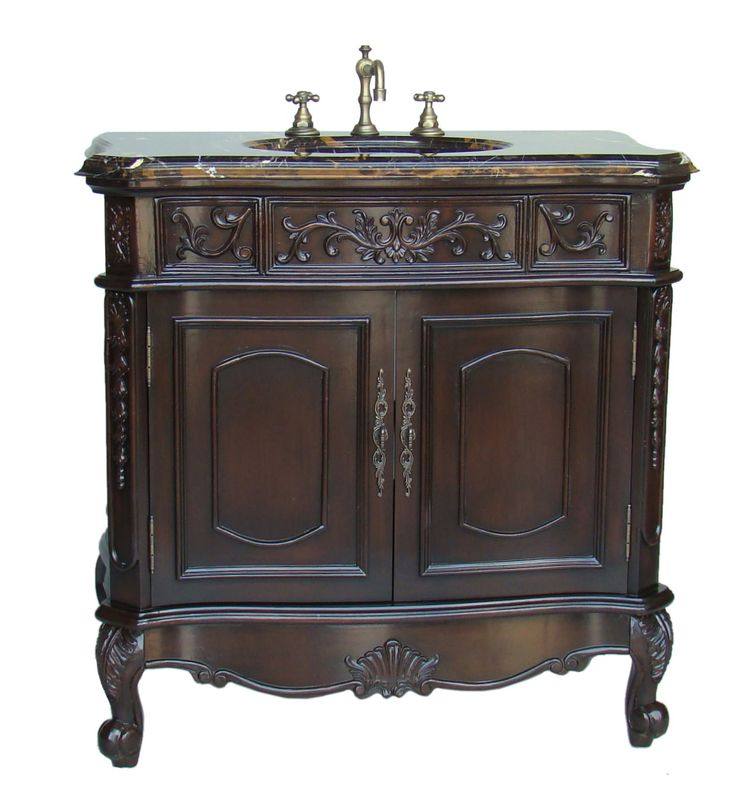129 best antique bathroom vanities images on pinterest | antique